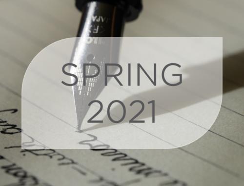 Newsletter – Spring 2021