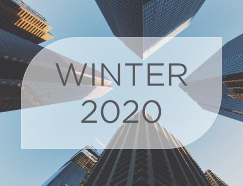 Newsletter – Winter 2020